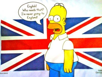 мы не знакомы английский